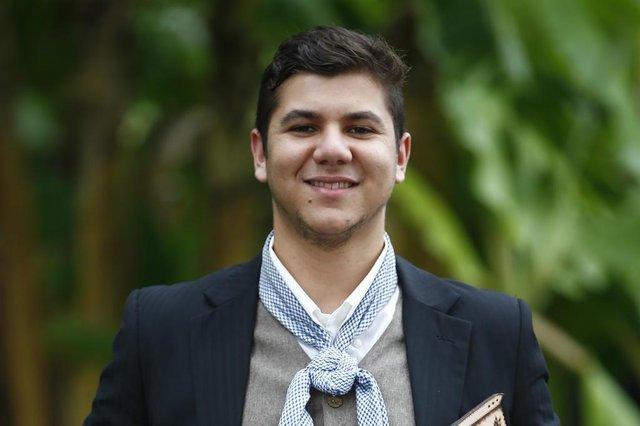 PORTO ALEGRE, RS, BRASIL, 03-05-2019: Fotos de Micael Feliciano, que foi escolhido Peão do Estado no Entrevero Cultura de Peões (FOTO FÉLIX ZUCCO/AGÊNCIA RBS, Editoria de Geral).
