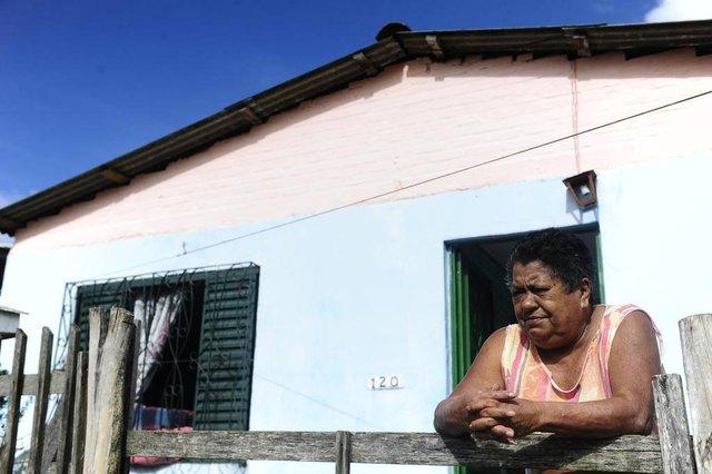 PORTO ALEGRE,RS,BRASIL.2019,0507.Moradores do Bairro Pitinga,praticamente não irão pagar IPTU.Nadir Dias(RONALDO BERNARDI/AGENCIA RBS).