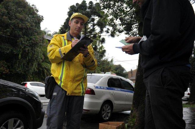 CAXIAS DO SUL, RS, BRASIL - 10/05/2019 - Maio Amarelo e projeto Fiscal por um dia (FOTO: ANSELMO CUNHA/AGENCIA RBS)