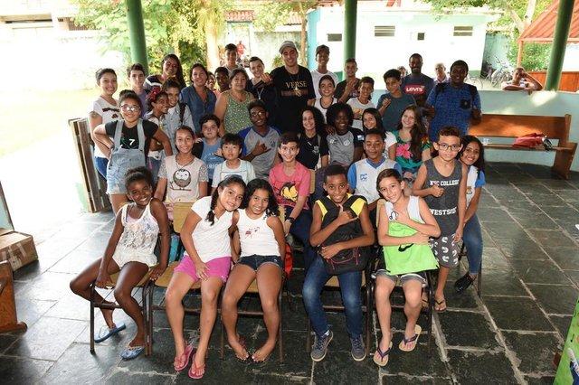 Chiquinho Divilas na Fundação Zeca Pagodinho