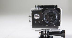 O primeiro item da Lojinha do DG é uma câmera de ação com capa à prova d'água (Agência RBS/Jefferson Botega / Agência RBS)