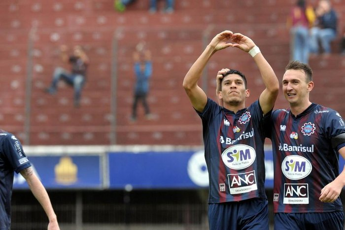 Gol de Márcio Jonatan