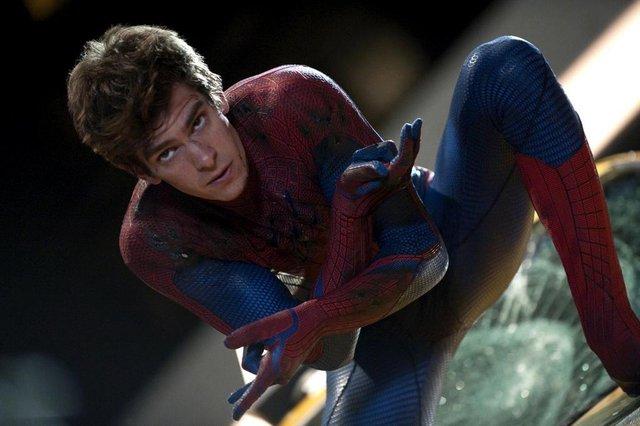 In this film image released by Sony Pictures,  Andrew Garfield is shown in a scene from The Amazing Spider-Man, set for release on July 3, 2012. (AP Photo/Columbia - Sony Pictures, Jaimie Trueblood)