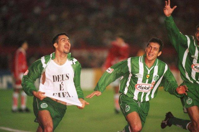 Inter 0x4 Juventude - Copa do Brasil#PÁGINA: 1 Fonte: Pioneiro