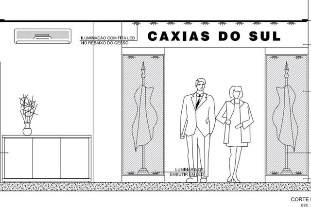 projeto, reforma, gabinete, prefeito, Daniel Guerra, Caxias do Sul