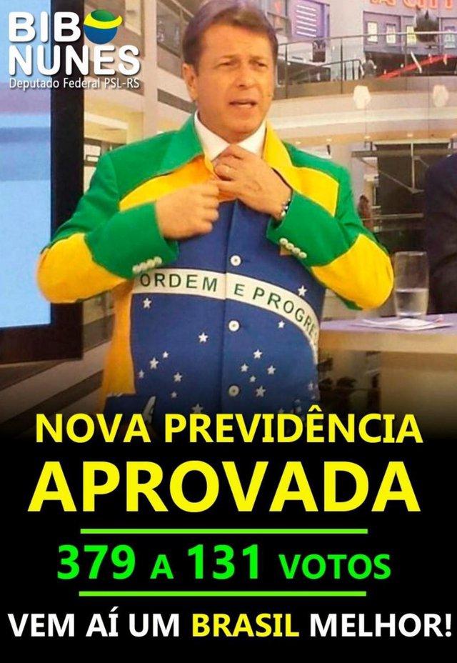 Deputado federal Bibo Nunes (PSL)