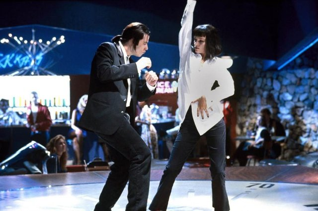 Pulp Fiction, cinema, clássico, John Travolta, Uma Thurmann, Quentin Tarantino