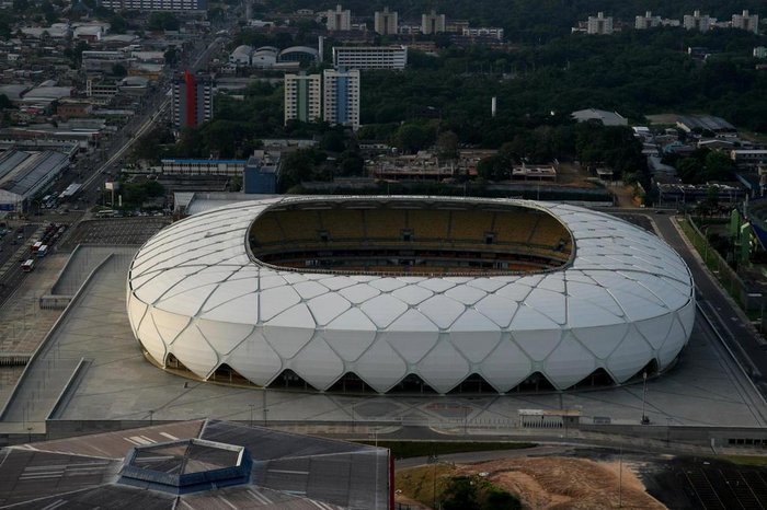 Arena da Amazônia pode ser o palco do acesso do Caxias à Série C