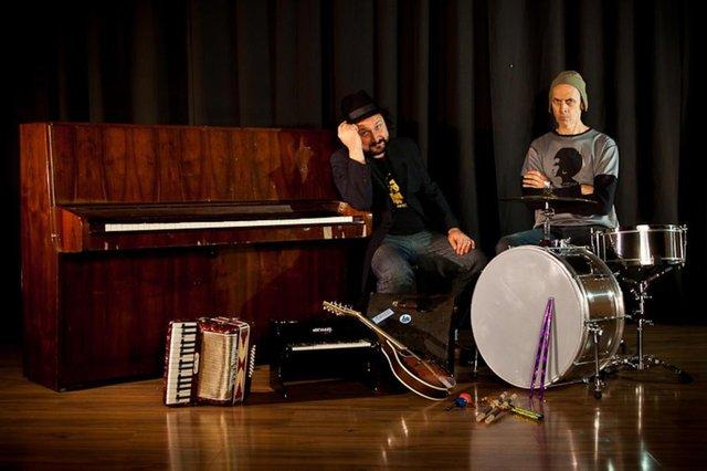 Duo Deno, composto por Fernando Pezão e Arthur de Faria