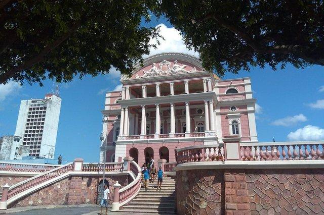 Teatro Amazonas, ponto turístico de Manaus