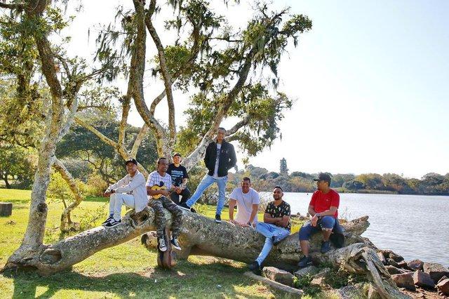 PORTO ALEGRE, RS, BRASIL 21/07/2019 - Grupo Samba Tchê - Estrelas da Periferia. (FOTO: ROBINSON ESTRÁSULAS/AGÊNCIA RBS)