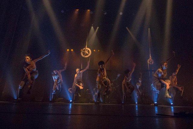 Espetáculo Subterrâneo, que abre a Mostra Sesc Dança Urbana