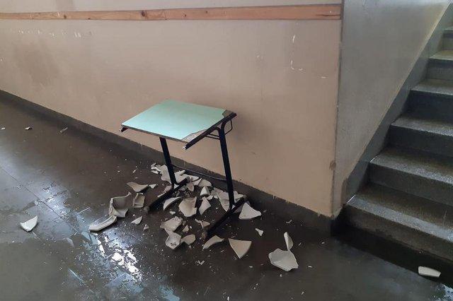 Homem invadiu Cristóvão de Mendoza na madrugada de sábado, dia 10, arrancou torneiras, quebrou pia e fugiu.