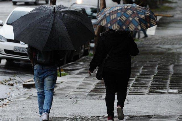 CAXIAS DO SUL, RS, BRASIL (12/08/2019)Dia de chuva em Caxias do Sul. (Antonio Valiente/Agência RBS)