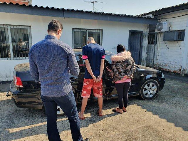 Casal é preso por usar estacionamento de condomínio para guardar veículos roubados