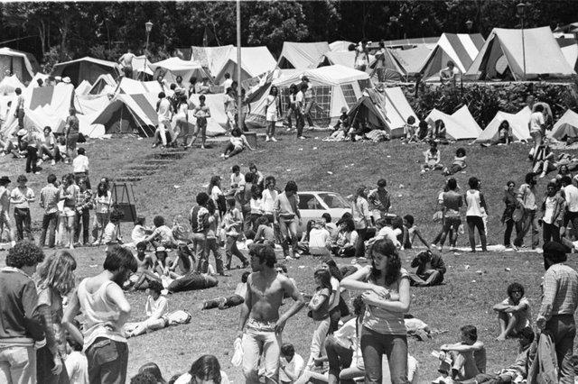 Cio da Terra - I Encontro da Juventude Gaúcha, em Caxias do Sul, no ano de 1982.#envelope: 6716
