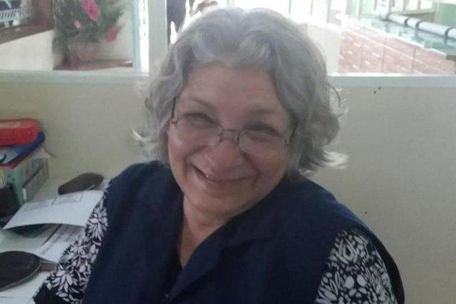 recepcionista Carmen Teresinha dos Santos Fontoura, 53 anos, moradora do bairro Santo Operário, creche vó maria, spn de ajuda, seu problema é nosso, canoas, boneco