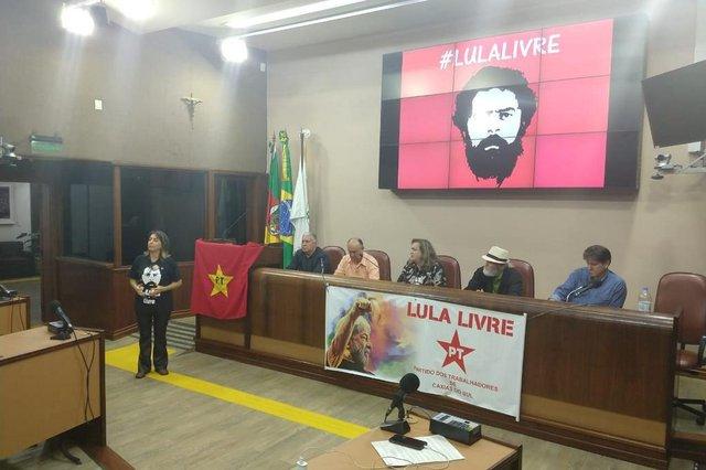 Convenção do PT de Caxias. Joceli Veadrigo, Piccola, é a nova presidente