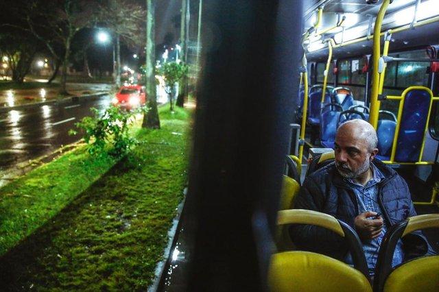 PORTO ALEGRE, RS, BRASIL - 11/09/2019A linha C4 Balada Segura será extinta. Na foto, Cleverson Rodrigues