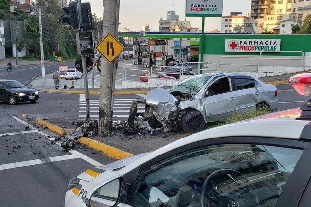 Homem morre em acidente em Caxias do Sul