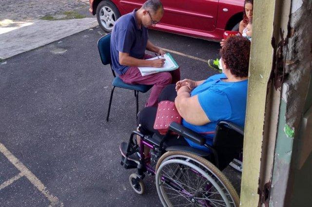 Situação dos Conselhos Tutelares de Porto Alegre. No Sarandi, este ano, cadeirante foi atendida do lado de fora por falta de acessibilidade.
