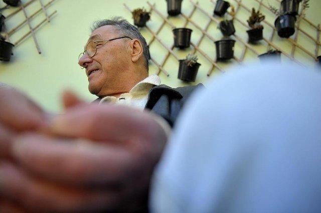 BENTO GONÇALVES, 24/09/2019Lar do AnciãoJosé Fiorotto, 75 anos(Lucas Amorelli/Agência RBS)