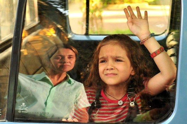 SX Rio de Janeiro (RJ) 26/03/2012 Carminha (Adriana Esteves) e Rita (Mel Maia) em Avenida Brasil. Foto TV Globo / João Miguel Junior