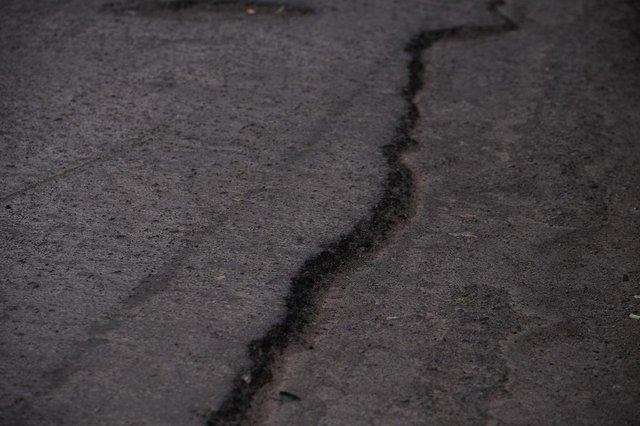 CAXIAS DO SUL, RS, BRASIL (02/10/2019)Moradores cobram manutenção de ruas no Bairro Santa Lúcia em Caxias. Na foto,  Rua Alcides Guisti no bairro Santa Lúcia. (Antonio Valiente/Agência RBS)