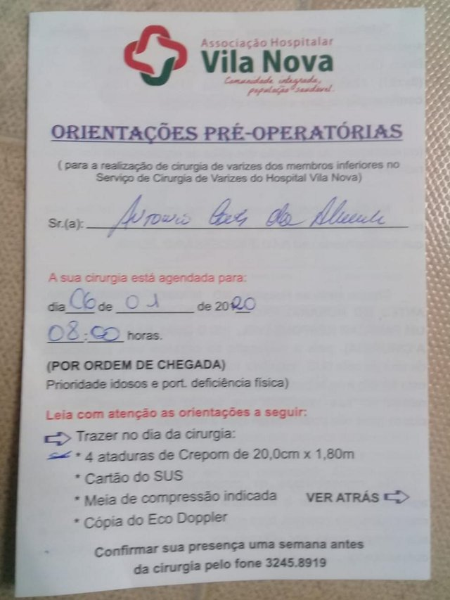 seu problema é nosso , resolvido , Antonio Carlos de Almeida , jardim leopoldina, porto alegre, cirurgia varizes