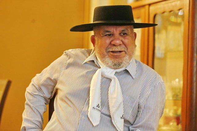 PORTO ALEGRE, RS, BRASIL 16/10/2019 - Bagre Fagundes que completou 80 anos. (FOTO: ROBINSON ESTRÁSULAS/AGÊNCIA RBS)