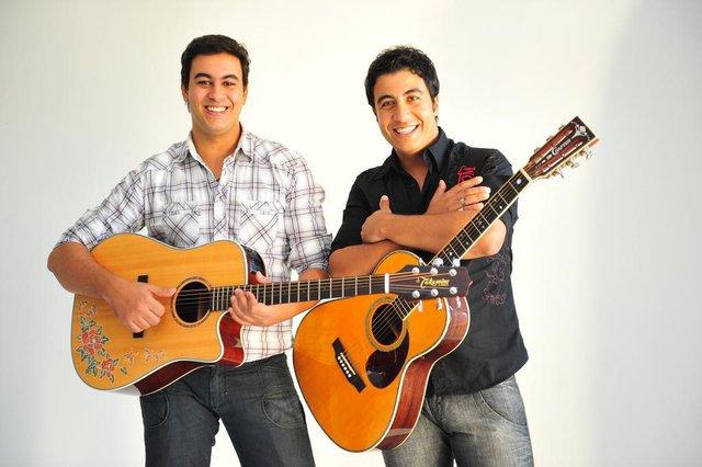 Músicos que irão se apresentar na festa de 11 anos do Diário Gaúcho - Enzo & Rodrigo.
