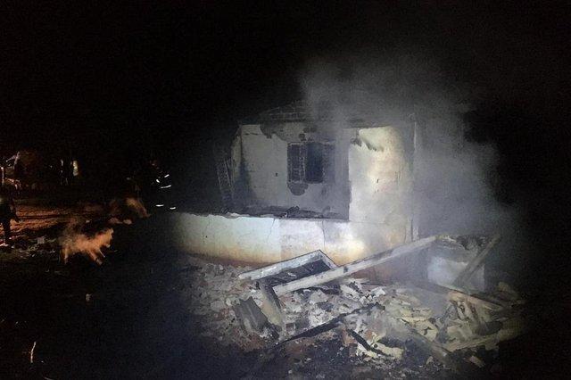 Casa de cacique é incendiada no município de Redentora, RS.