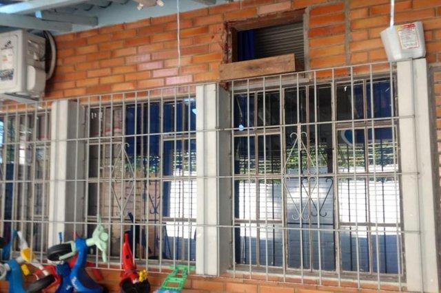 SÃO LEOPOLDO, RS, BRASIL 18/11/2019- Creche de São Leopoldo é furtada pela terceira vez em quatro meses . (Foto: Maristela Souza da Rosal  /Arquivo pessoal)