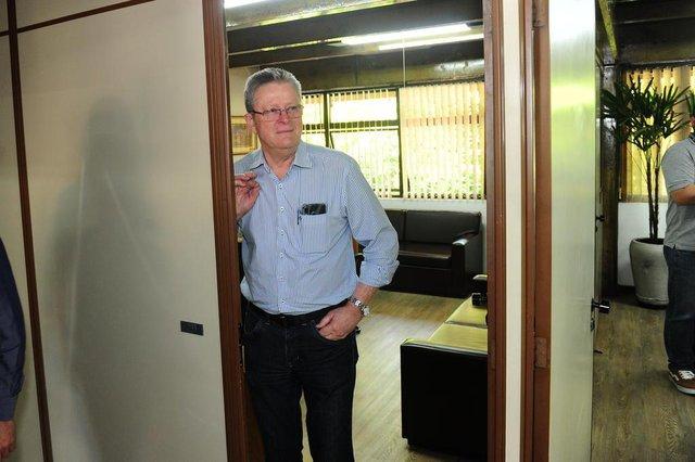 CAXIAS DO SUL, RS, BRASIL, 23/12/2019. Vereador Flávio Cassina (PTB), que assume a prefeitura temporariamente até novas eleições indiretas sejam realizadas. (Porthus Junior/Agência RBS)
