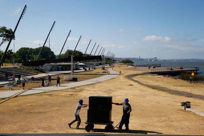 Prefeitura espera 140 mil pessoas no local