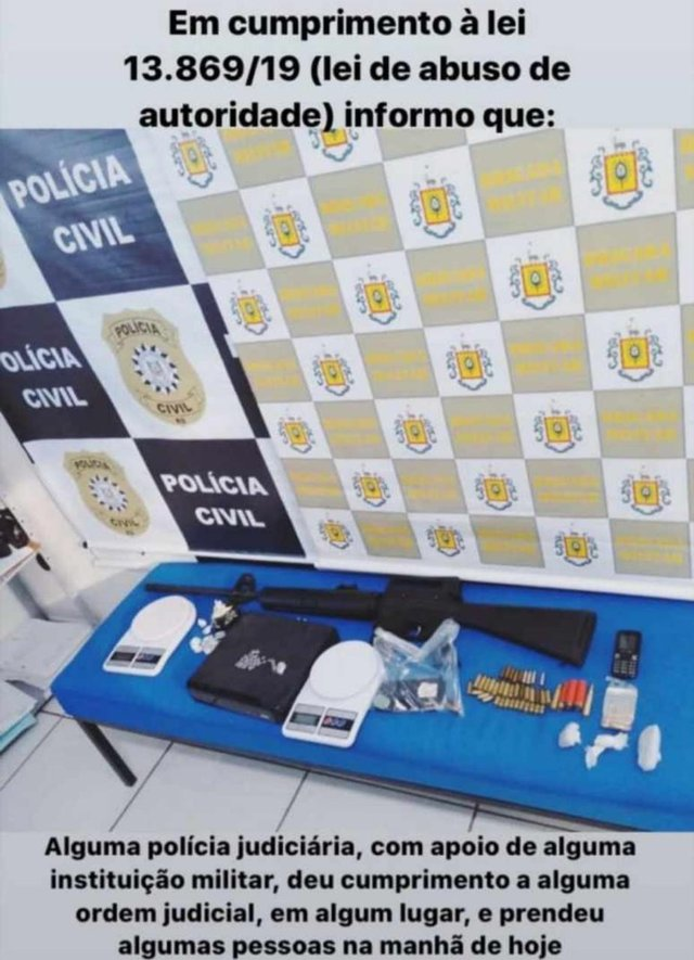Banner da Polícia Civil do RS