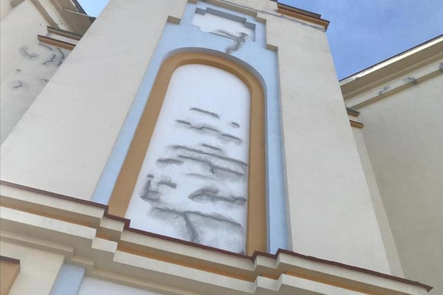 Fachada do Santuário de Caravaggio passará por pintura externa.