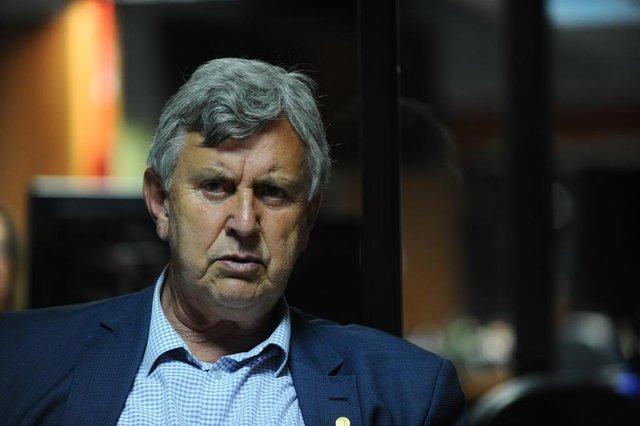 CAXIAS DO SUL, RS, BRASIL, 29/10/2018.  deputado federal, Luiz Carlos Heinze, PP, senador eleito. (Porthus Junior/Agência RBS)