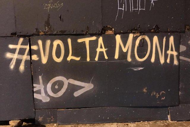 Manifestações contrárias à saída de Mona Carvalho da Unidade de Artes Visuais