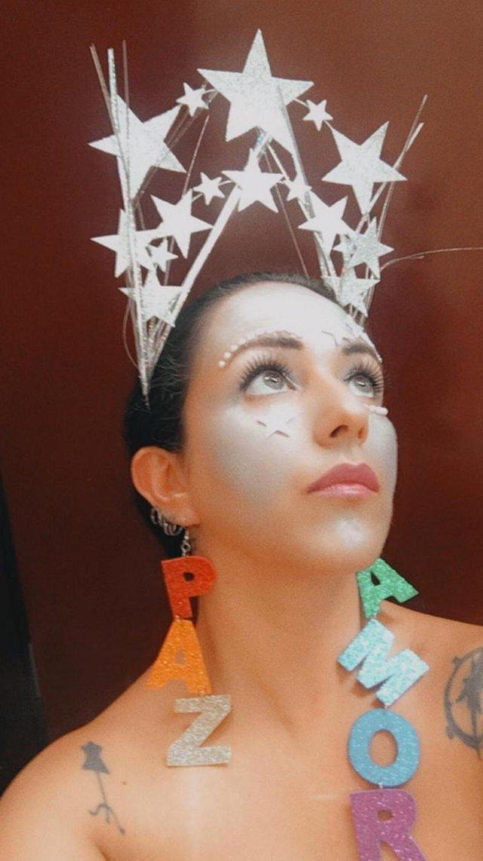 Tiara para o Carnaval - Passo a passo da Niura Ramos