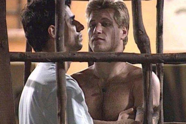Prova de resistência do Big Brother Brasil 7 ficou entre Alberto, o Caubói e rival Diego.Foram mais de 21 horas de sofrimento#PÁGINA:32 Fonte: Reprodução