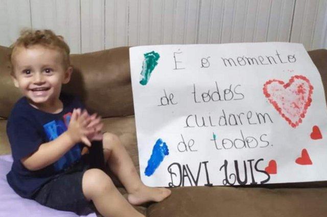 Alunos de Fagundes Varela espalham mensagens positivas em rede social para combater coronavírus<!-- NICAID(14470117) -->