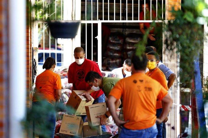Amurt-Amurtel recebeu 720 cestas básicas