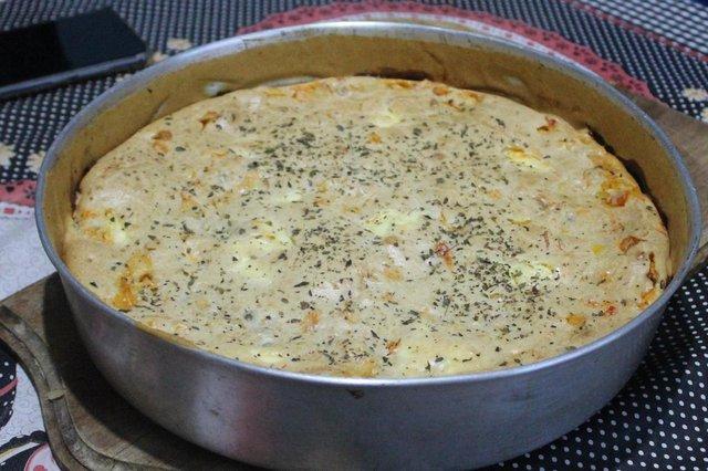 Receita do Leitor , diário gaúcho , torta de frango , torta salgada , Thayna Souza<!-- NICAID(14465350) -->