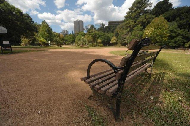 CAXIAS DO SUL, ,RS, BRASIL, 22/03/2020Tarde de domingo vazia no parque dos macaquinhos.(Lucas Amorelli/Agência RBS)<!-- NICAID(14458227) -->