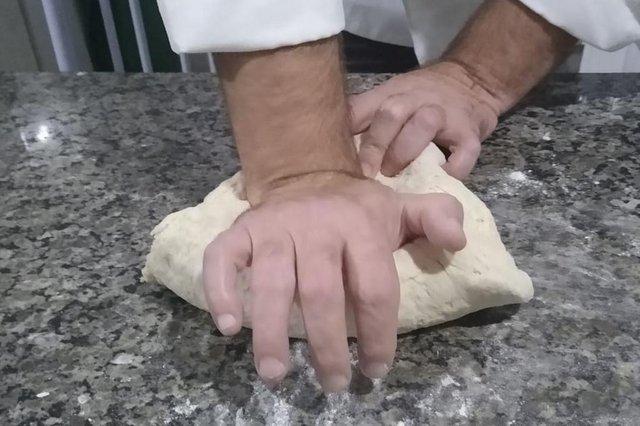 receita do leitor, Carlos Rossano da Costa, 48 anos, massa de pão, pizza