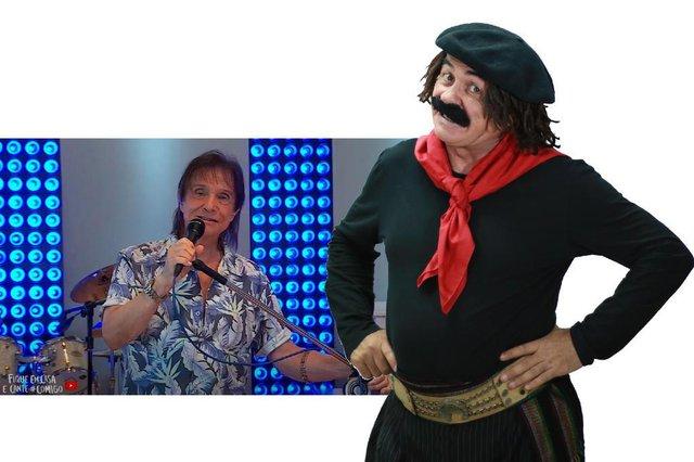 live roberto carlos, coluna do guri de uruguaiana, final de semana, 25 e 26 de abril de 2020