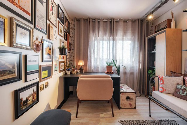 Inspirado no conceito dinamarquês ¿hygge¿, arquiteto Saymon Dall´Alba faz do seu apartamento um recanto primoroso<!-- NICAID(14487003) -->