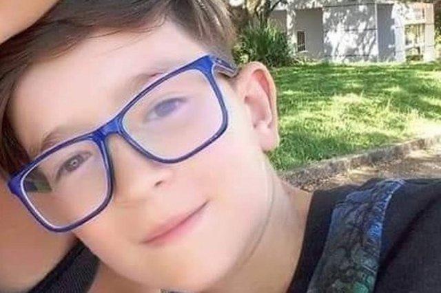 Menino Rafael Mateus Winques, 11 anos, está desaparecido em Planalto, no norte do RS. Polícia investiga o caso. <!-- NICAID(14503844) -->