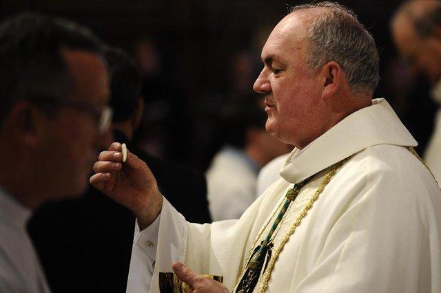 CAXIAS DO SUL, RS, BRASIL (08/09/2019)Posse do novo bispo da Diocese de Caxias do Sul, José Gislon na catedral de Caxias do Sul. (Antonio Valiente/Agência RBS)<!-- NICAID(14240694) -->